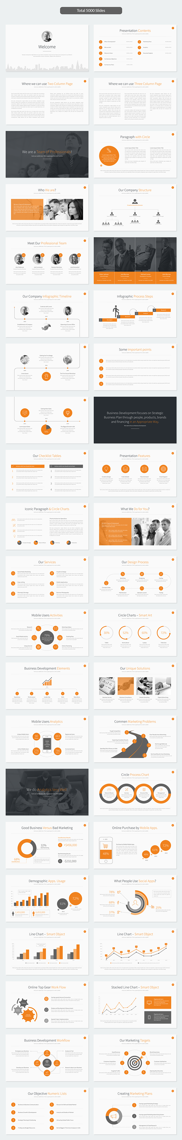 Business development powerpoint template on behance play video cheaphphosting Gallery