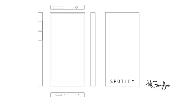 Spotify Music Player Concept on Student Show