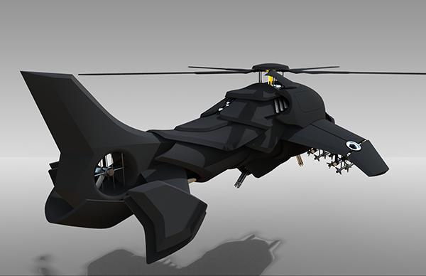 gunship concept on ccs portfolios