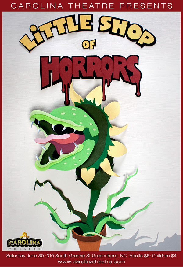 little shop of horrors paper Little shop of horrors centres around a 'meek and dejected florist shop assistant' who raises a plant that feeds on human flesh and blood horsham arts council shows are renowned for their talented casts and boutcher said this one was no different.