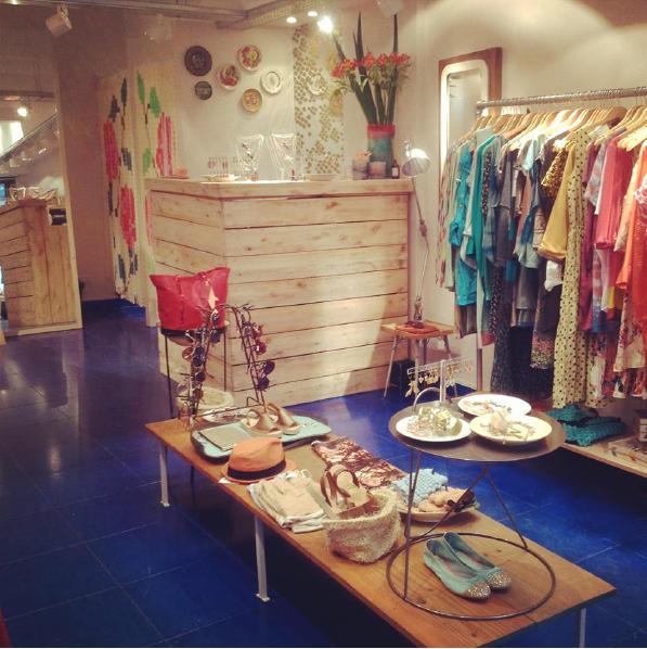 salmon tienda boutique Palermo marca botanico bazar indumentaria multimarca