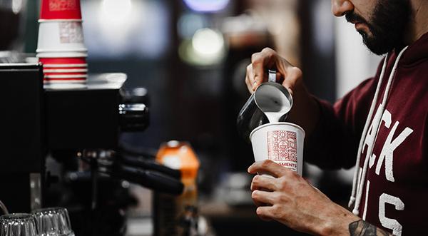 Fragments - logo & identity for coffee shop