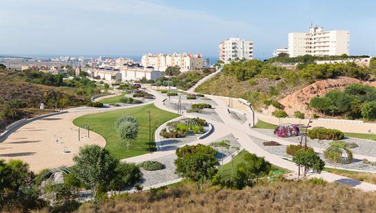 Torreblanca park in torrevieja alicante spain on behance - Estudio arquitectura alicante ...