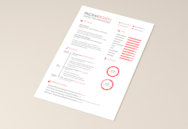 cv resume template free on behance - Cv And Resume Templates Free