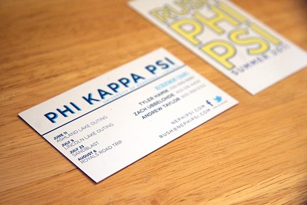 Recruitment materials on behance recruitment materials 2011 phi kappa psi fraternity colourmoves