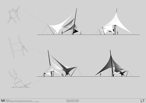 Membran structure design u0026 construction | 03.2013  sc 1 st  Behance & membran tent on Behance