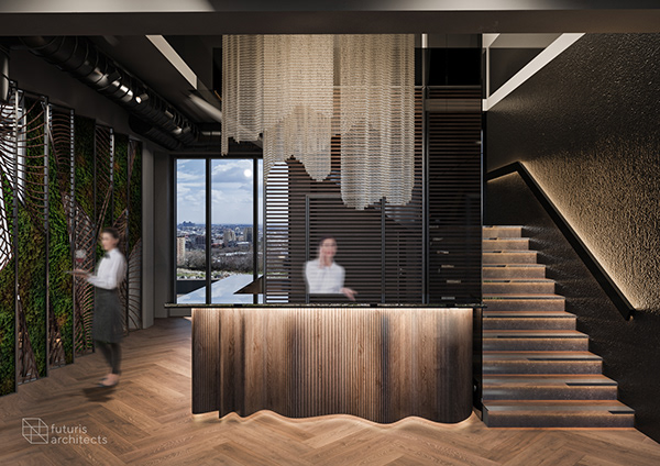 Contemporary Restaurant Interior