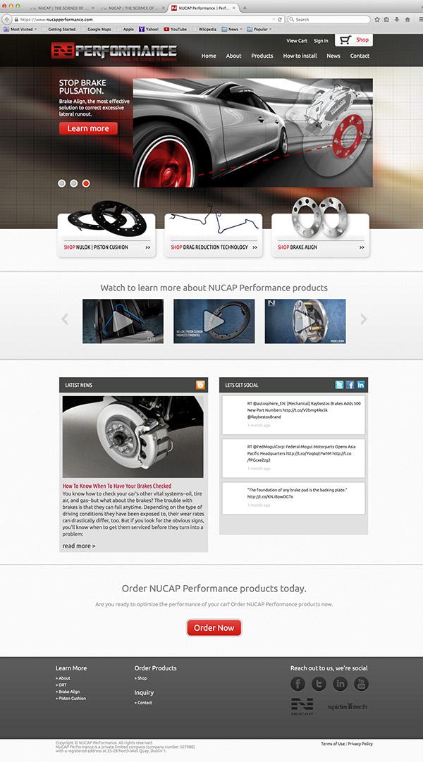 NUCAP brake accessories performnce