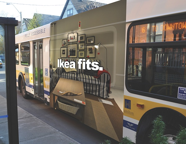 ikea bus shelter on behance. Black Bedroom Furniture Sets. Home Design Ideas