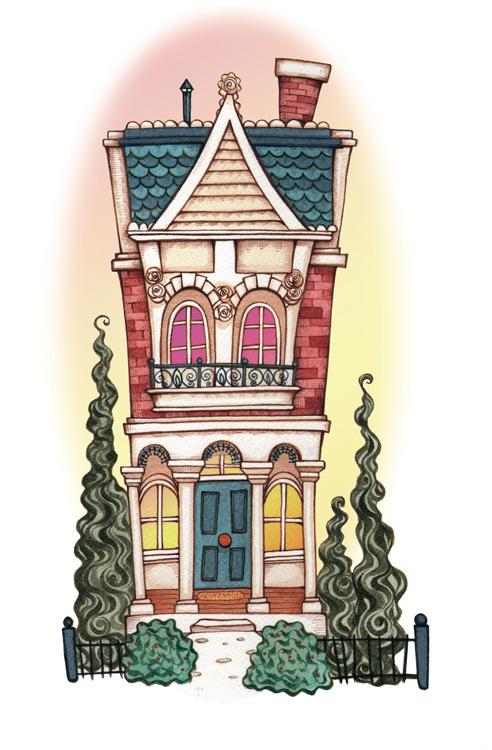 home renovation  Illustration  editorial
