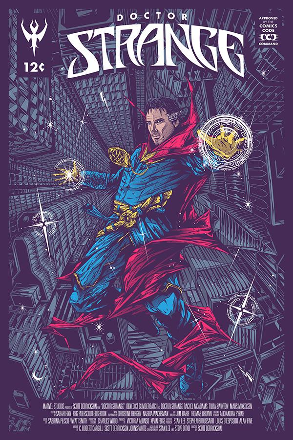 comics Comic Book SuperHero screen printing poster movie poster