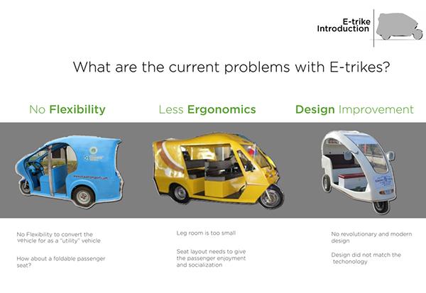 E Trike Eletric Vehicle On Behance