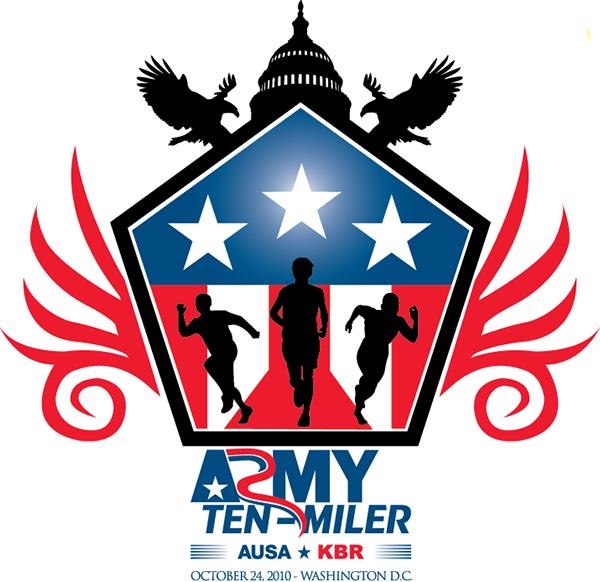 Army Ten Miler Shirt Design