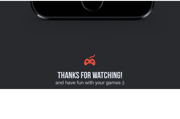 UI ux ios app mobile flat iphone Games playstation hours
