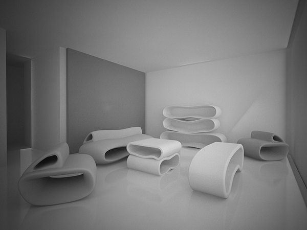 Kalmari Futuristic Furniture On Behance