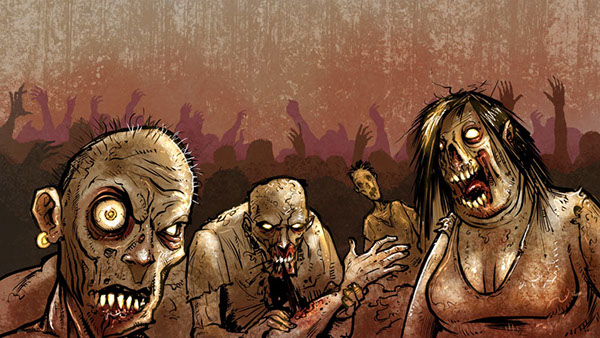 Zombie Apocalypse Music Video For Straying From Madness On Behance
