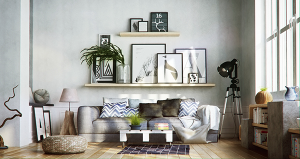 My New Interior Design Scandinavian Style An Implementation Of Featuring Natural Colors Elements With Minimalist Furniture