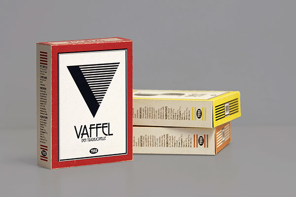 packaging design art art deco type product graphic Food
