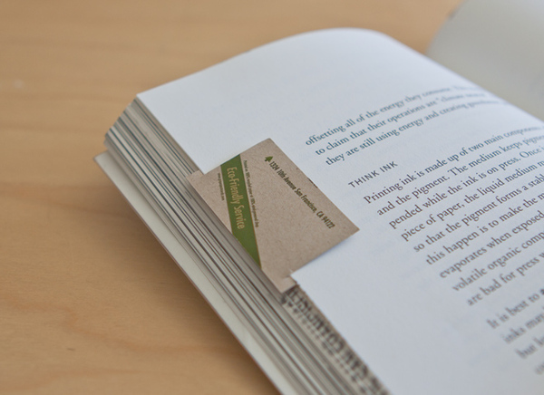 Bookmark business card on behance easy steps to make it bookmark colourmoves