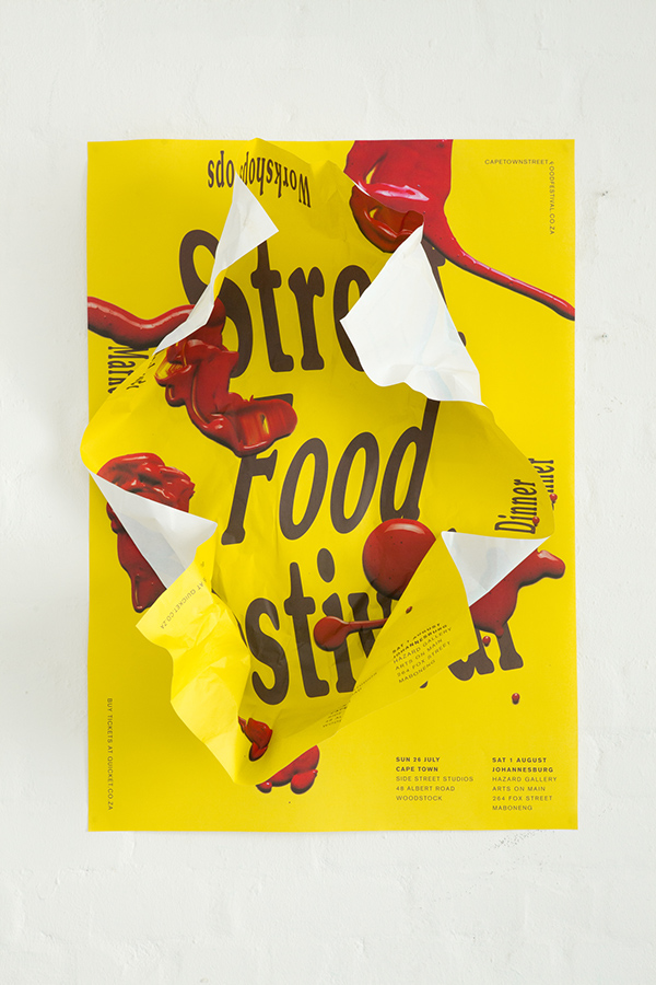 Street Food Festival  Cape Town And Johannesburg 2015 On Behance