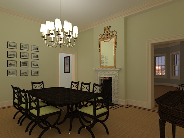 Private residence boston massachusetts on pantone canvas - Private dining room boston ...