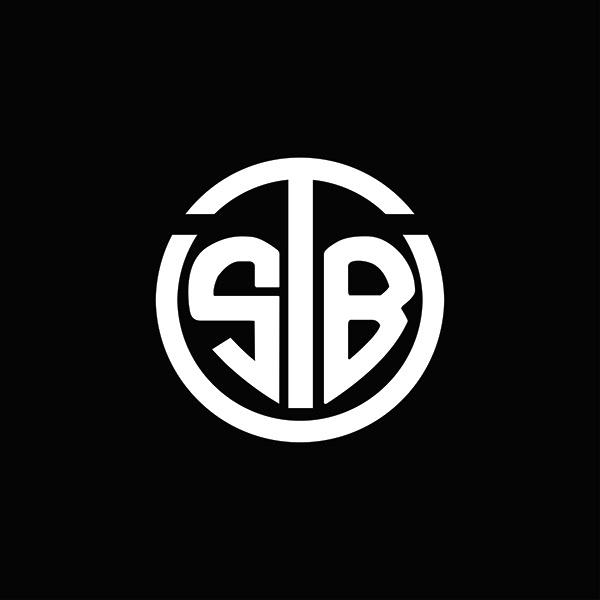 STB monogram logo design