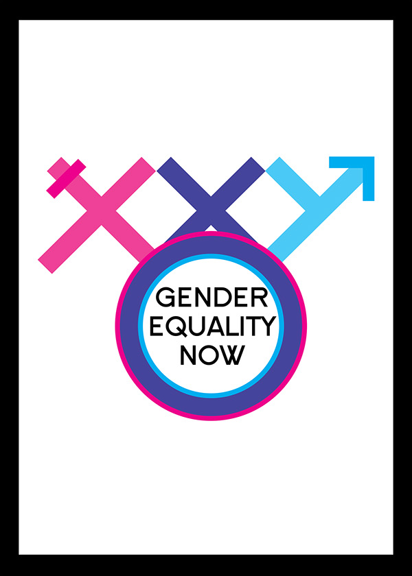 Gender Equality Now on Behance Gender Equality Posters