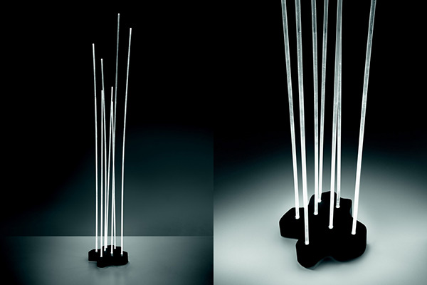 Reeds Led Lamp By Artemide On Behance