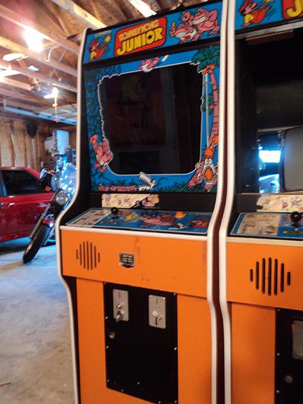 Donkey Kong Jr Arcade Restore On Behance