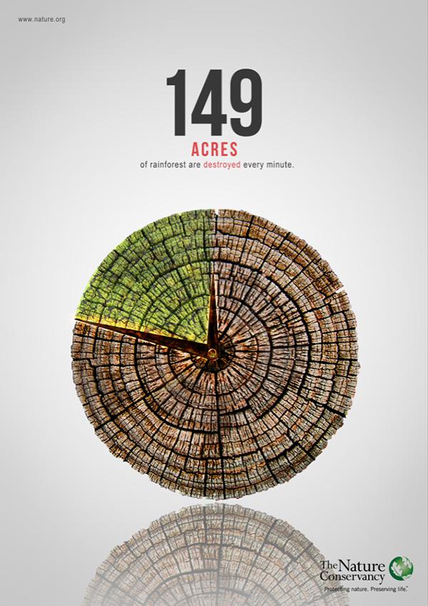 Deforestation Poster On Behance