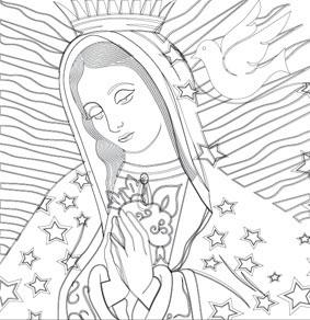 Virgen De Guadalupe On Behance