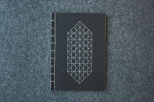 gothesque gothic Display grid diamond  grotesque shape system westerdals student Booklet book folder sketches sketch