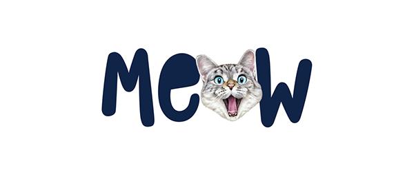 Meow—Brand identity design