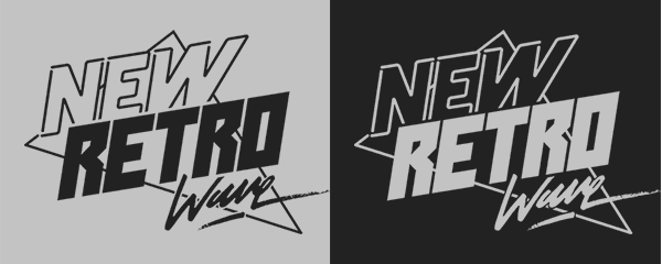 New Retro Wave Restyling on Behance