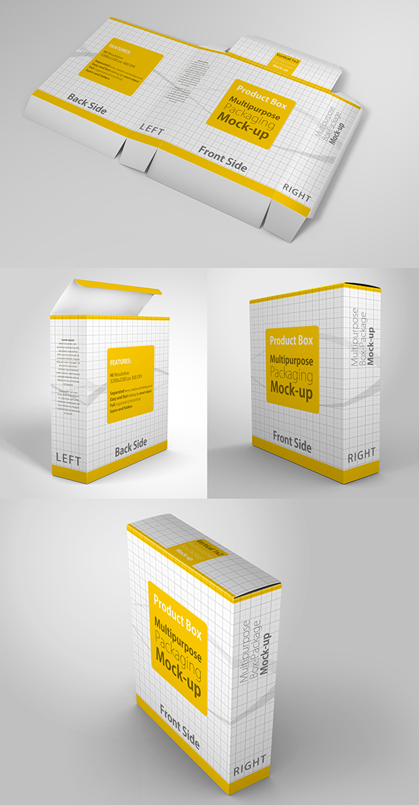 38fa9ca3fa4 4 Multipurpose Package   Box Mock up on Student Show