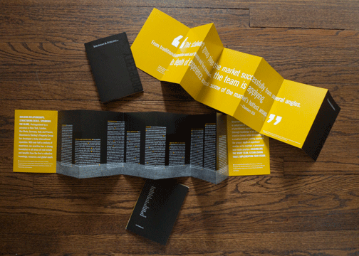 property group brochure on aiga member gallery