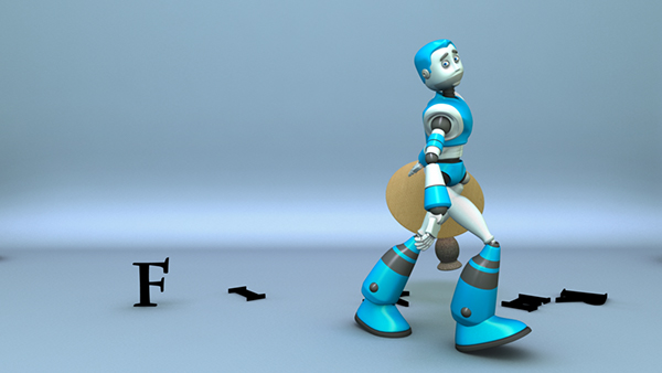 robot Lamp funny pixar breakdance short film