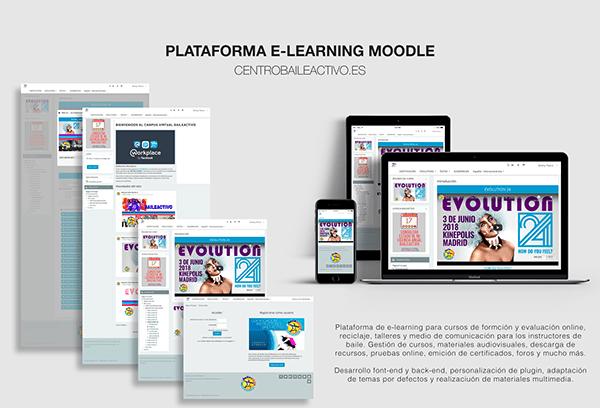 Plataforma E-Learning Moodle - Campus Baileactivo