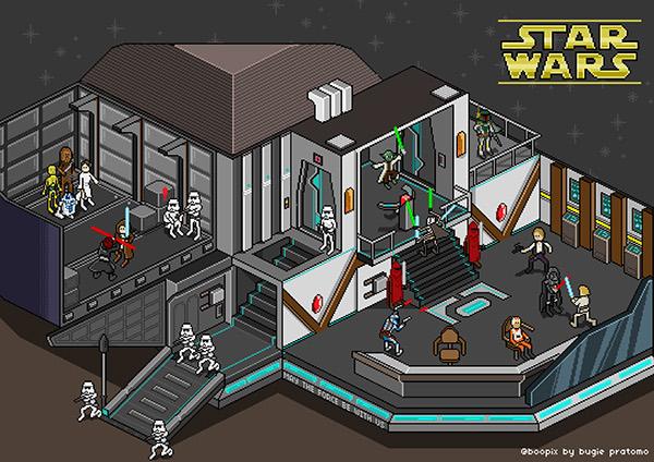 Star Wars Pixel On Behance