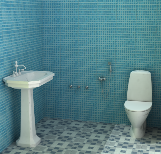 Redesigning chawl interior design on behance for Bathroom designs mumbai