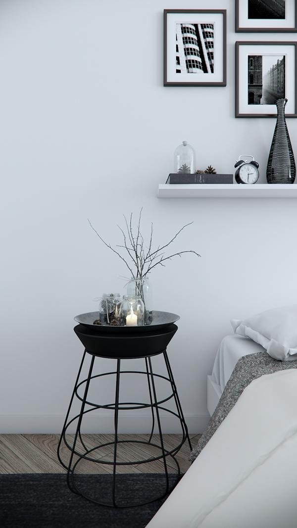bedrrom design vray tsvetan stoykov minimal