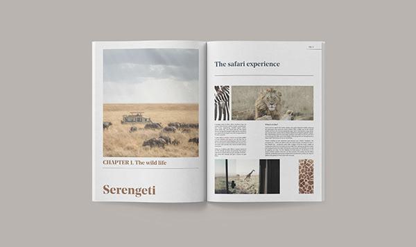 .RAW | Travel Magazine Concept