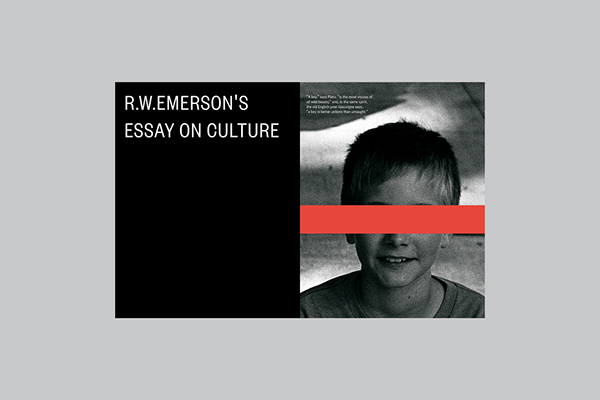 emerson essay project Essays transcendentalism wrap up project  dive by eyedea & abilities- aside from being an awesome and thought provoking song, this track opens up the ideas of emerson's self- reliance for me pretty well the song talks about how someone goes out to look for the meaning of life and existence, rather than seeking it from within.