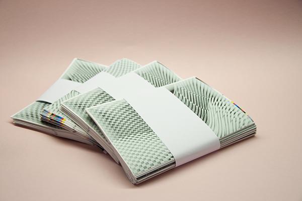 Space  Boder Dissertation postmodern Conceptbook book square centimeter