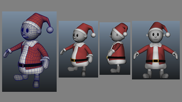 Christmas 3d modeing