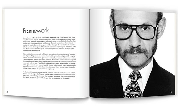 Coffee Table Book Layout on Behance
