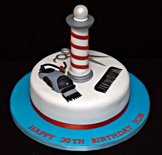 Barber Cake Toppers