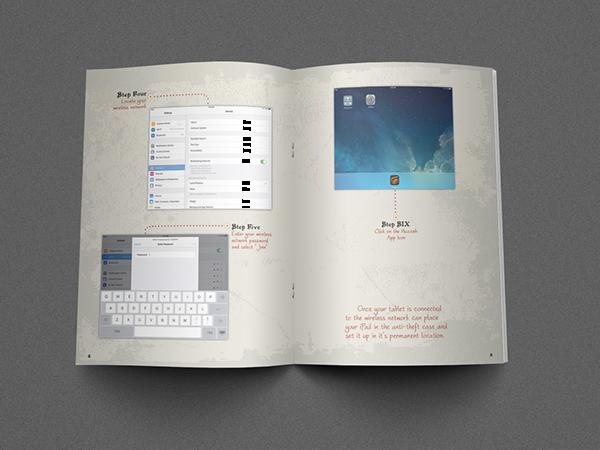 huzzah user manual on behance