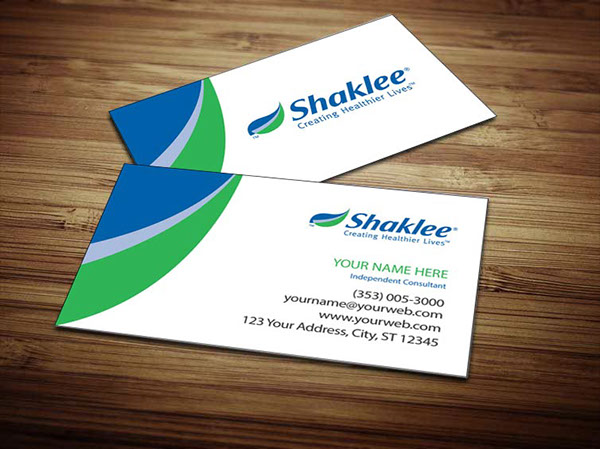 Shaklee Business Cards On Behance