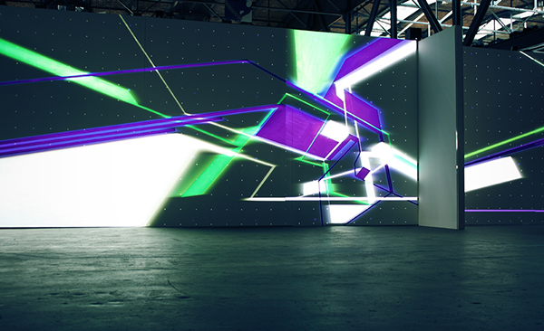 NAWER TEMPORARY SPACE DESIGN Mapping SUPERPLAN berlin Graffiti areosol